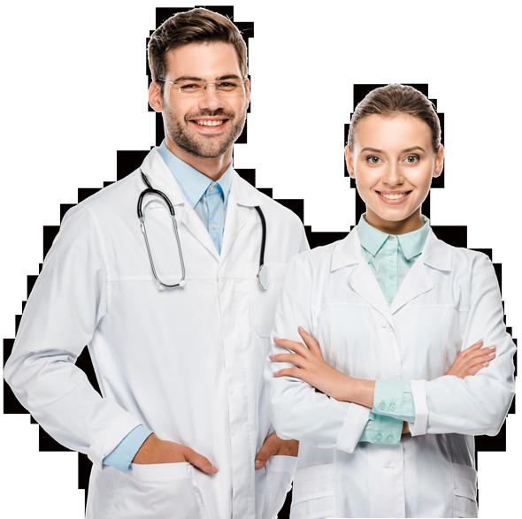 casal de medicos